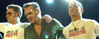 Photo of the Month - Morrissey on a concert in Zagreb, author Jadran Babic [ 93.67 Kb ]