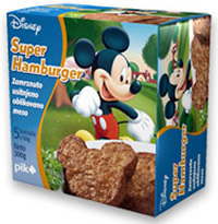 Disney hamburger