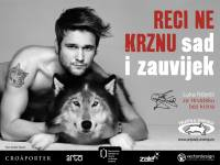 Luka Nizetic for Croatia without fur bez krzna - billboard [ 462.17 Kb ]