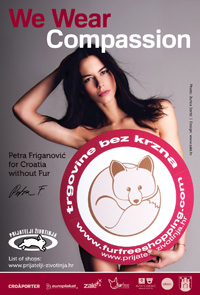 Petra Friganovic for Fur free retailer [ 646.33 Kb ]