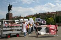 Demo against animal transport, Zagreb 2012 [ 86.49 Kb ]