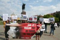 Demo against animal transport, Zagreb 2012 [ 87.65 Kb ]