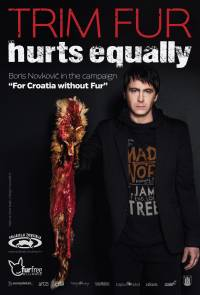 "Boris Novkovic CL plakat ""Trim Fur Hurts Equally"" [ 1011.12 Kb ]"