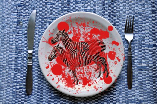 Zebras also on a plate? [ 316.64 Kb ]