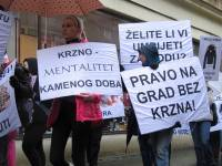 Demo against fur in Zagreb 2010 [ 405.84 Kb ]