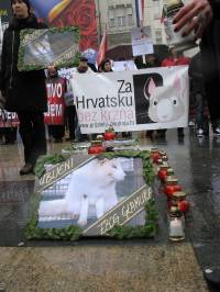 Demo against fur in Zagreb 2010 [ 452.86 Kb ]