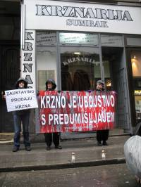 Demo against fur in Zagreb 2010 [ 429.39 Kb ]