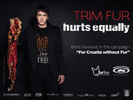 "Boris Novkovic billboard ""Trim Fur Hurts Equally"" [ 505.80 Kb ]"